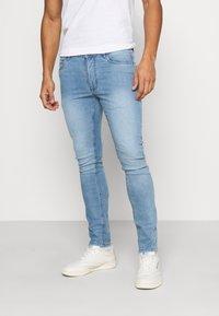 Burton Menswear London - WASH  - Jeans slim fit - blue - 0