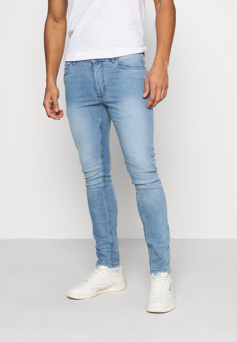 Burton Menswear London - WASH  - Jeans slim fit - blue
