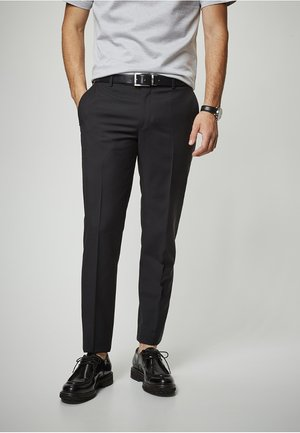 RYAN - Suit trousers - schwarz