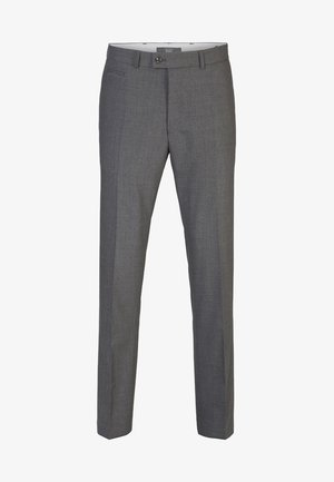 ENRICO - Suit trousers - grey