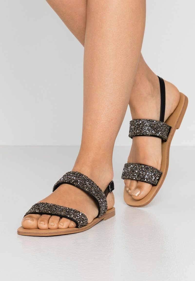 Glamorous Wide Fit - Sandály - black