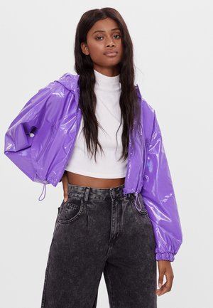 Waterproof jacket - mauve