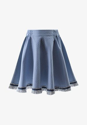 LIGHT - A-line skirt - blue