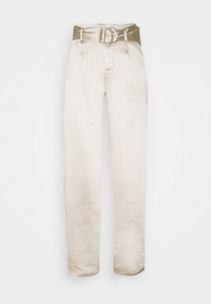 DALLAS TROUSER - Trousers - cream