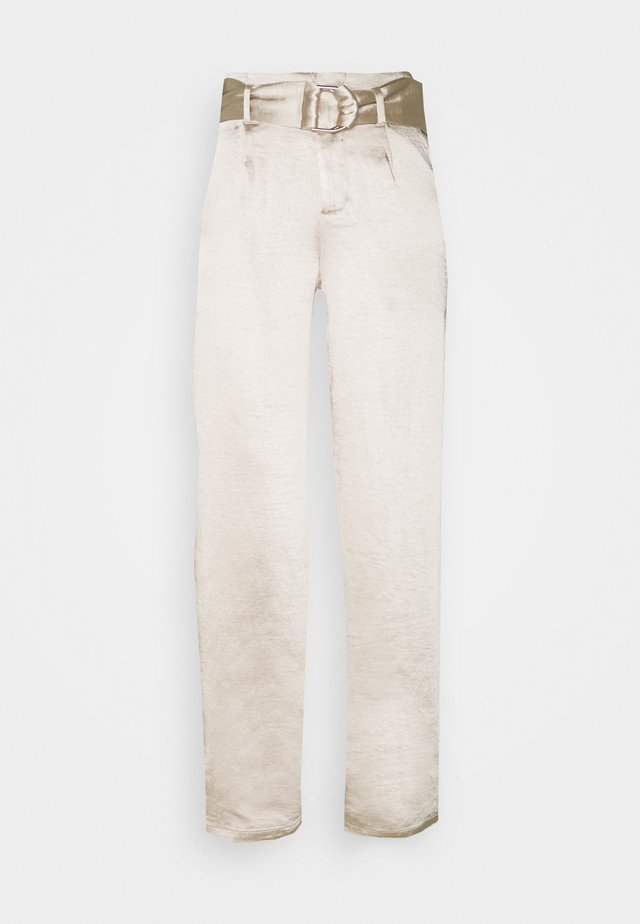 DALLAS TROUSER - Pantalones - cream