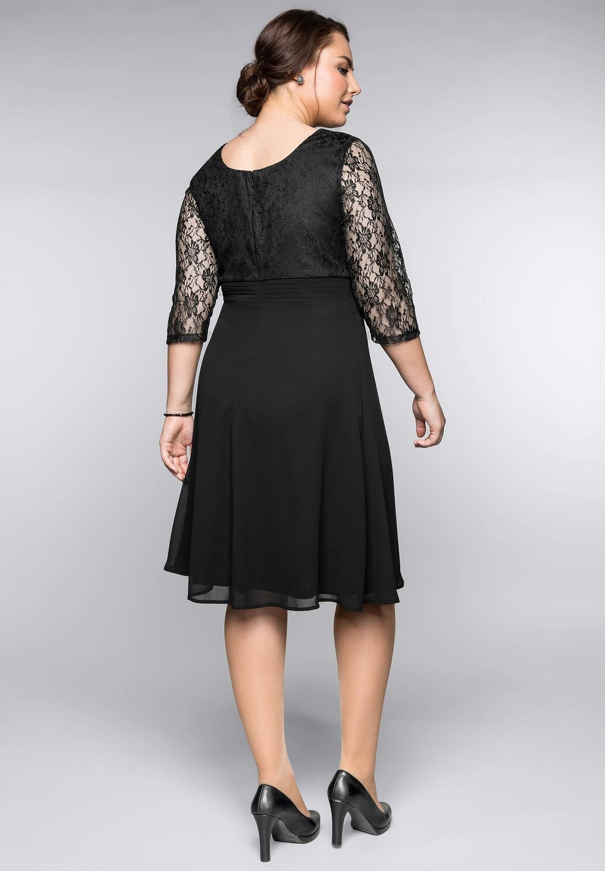 Sheego Freizeitkleid - black | Damenbekleidung 2020