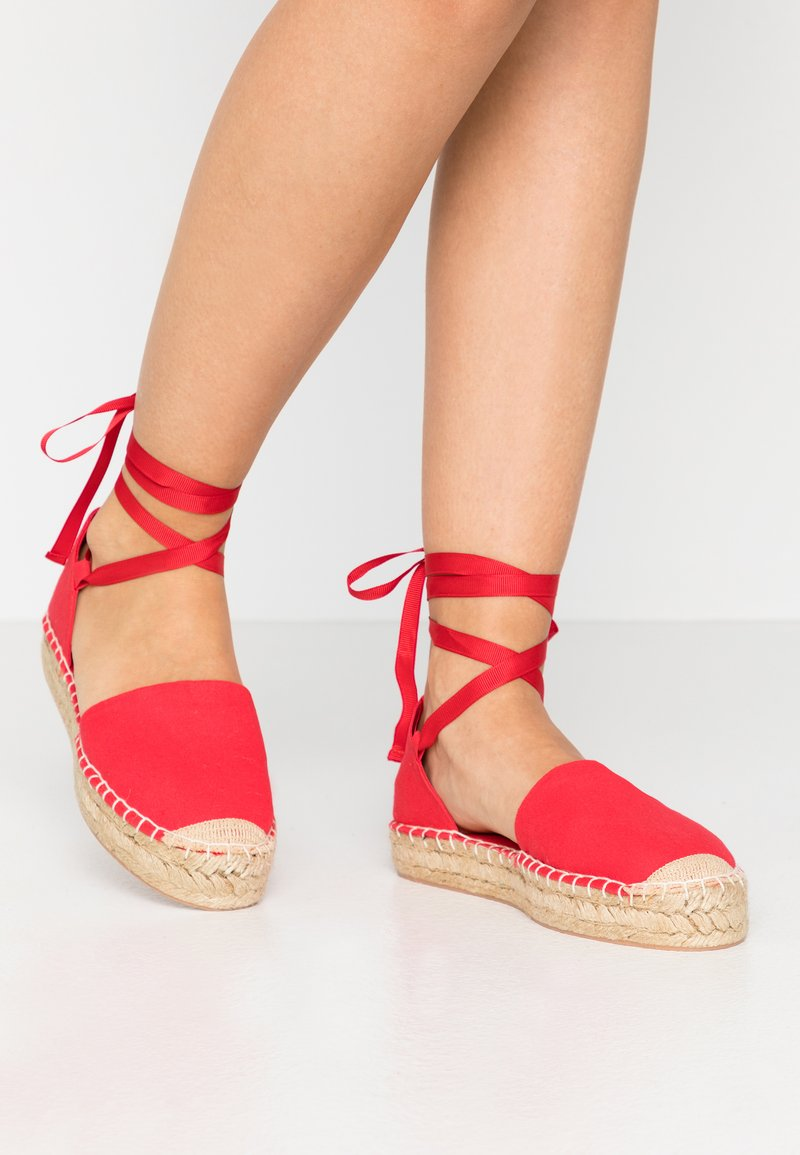 Even&Odd - Loafers - red
