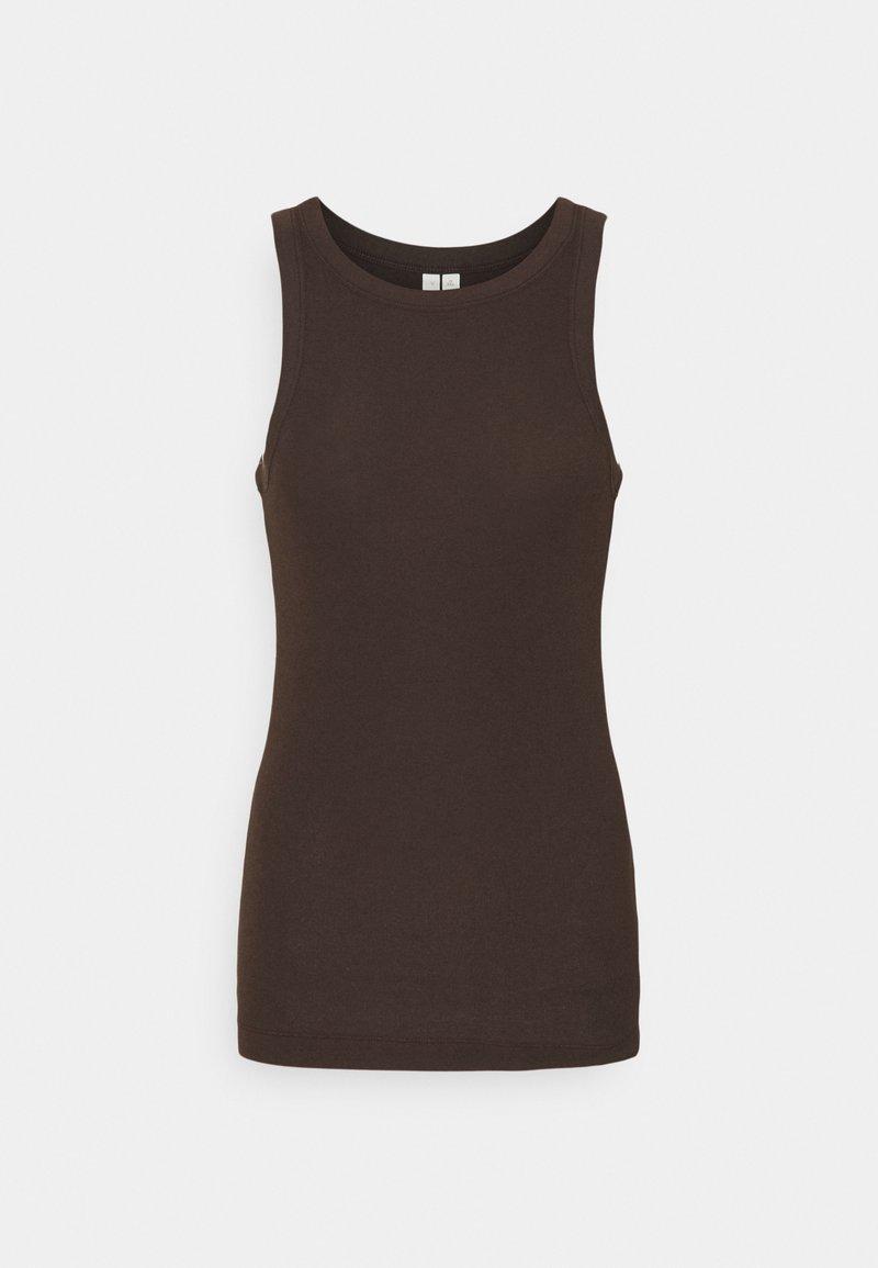 ARKET - Top - dark brown