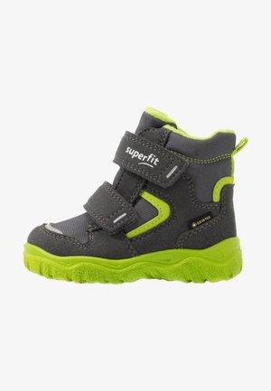 HUSKY - Winter boots - grau/grün