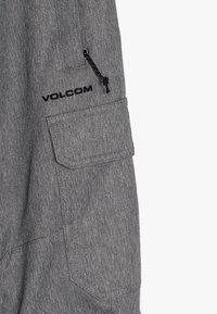 Volcom - CARGO PANT - Snow pants - heather grey - 2