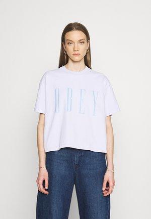 Print T-shirt - lilac hint