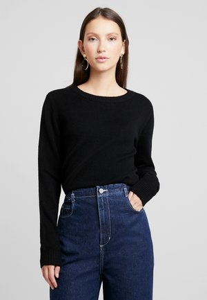 VIRIL O NECK - Jumper - black