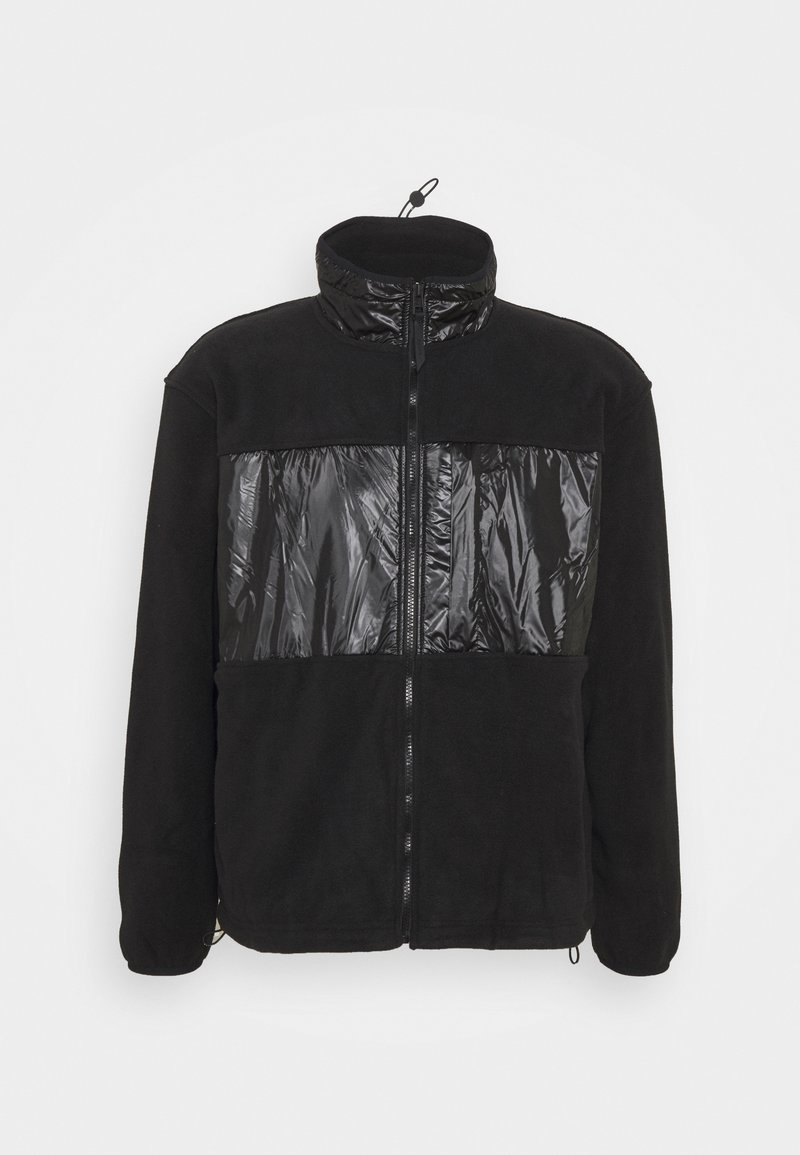 Rains - JACKET UNISEX - Fleecová bunda - black