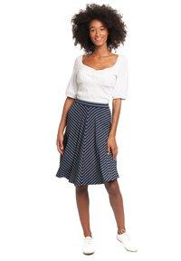 Vive Maria - A-line skirt - blau allover - 1