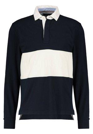 TOMMY HILFIGER HERREN SHIRT LANGARM - Polo shirt - blau (51)