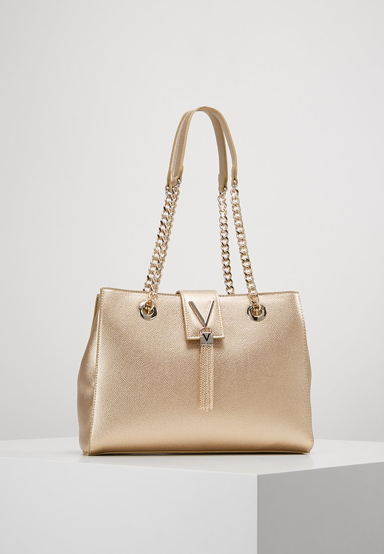 Valentino Bags - DIVINA - Handbag - oro
