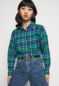 GAP Petite - EVERYDAY - Camicia - blue/green - 4