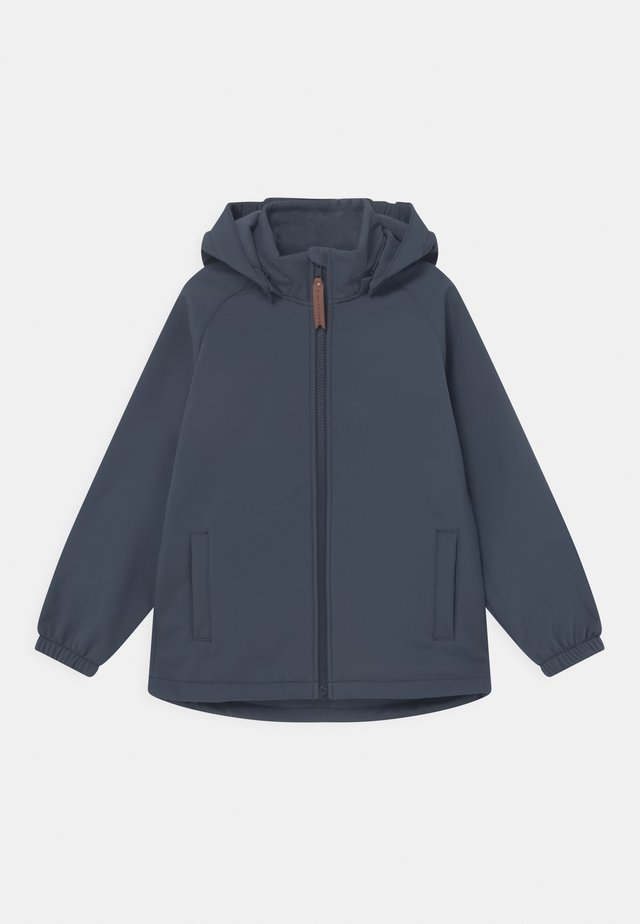 ADEN UNISEX - Giacca softshell - ombre blue
