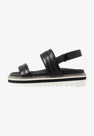 ALICANTE  - Platform sandals - black