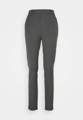 VMMAYA LOOSE SOLID PANT - Bukse - medium grey melange