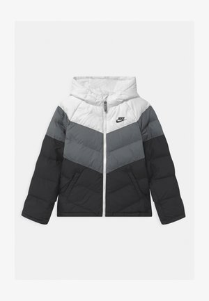 UNISEX - Winter jacket - white/smoke grey/black