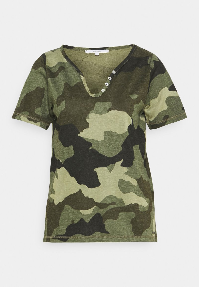 Pepe Jeans - CAMI - Print T-shirt - forest green