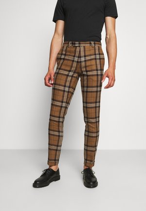 GHOTI TROUSERS - Kalhoty - brown