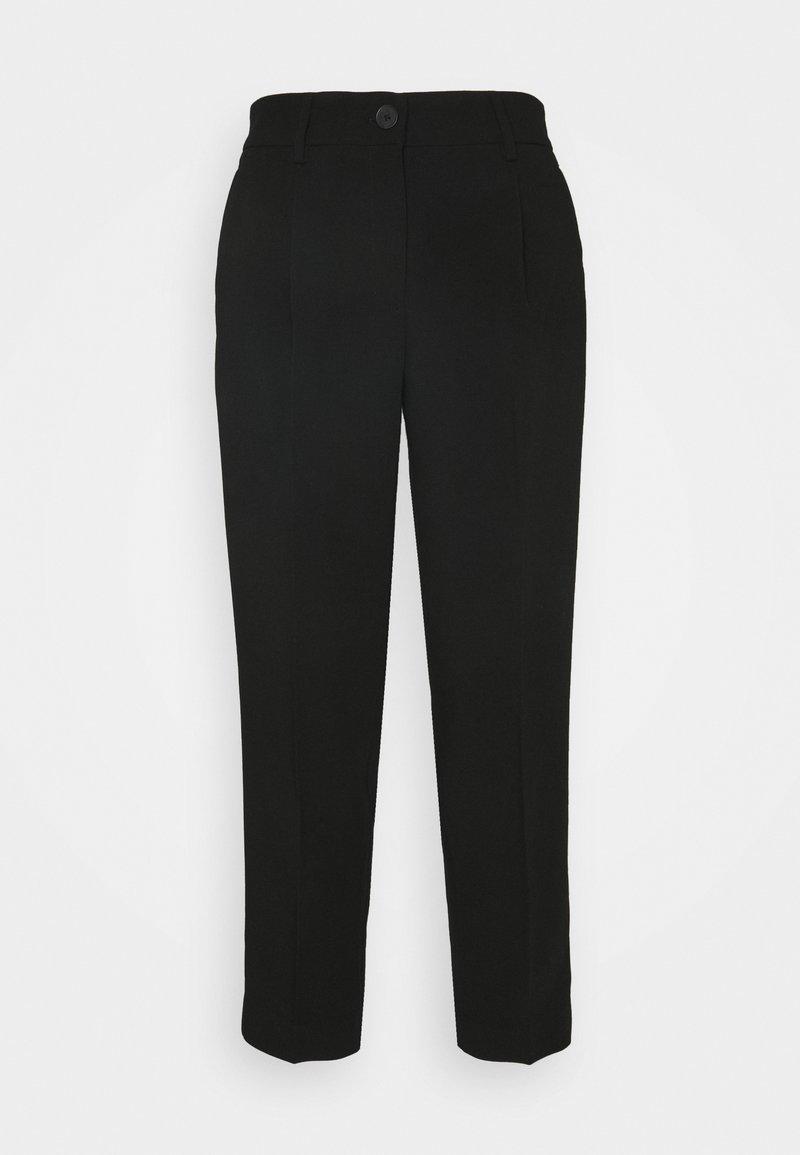 Opus - CITY - Trousers - black