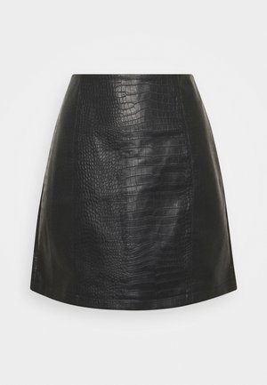 JDYVAL SNAKE  SKIRT - Gonna a campana - black