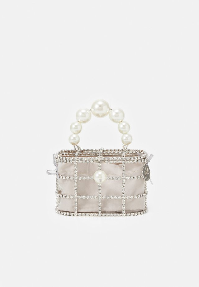 MINI HOLLI - Borsa a mano - silver-coloured