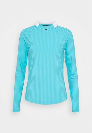 LONG SLEEVE GOLF  - Top s dlouhým rukávem - beach blue