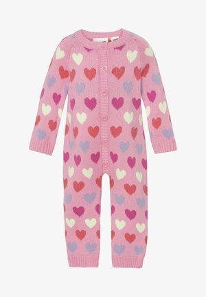 Jumpsuit - pink heart