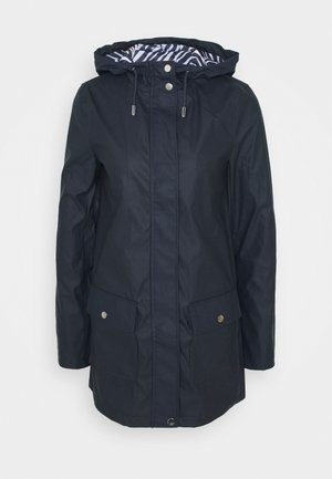 TALL RAINCOAT - Regnjakke - navy