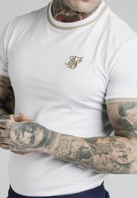 SIKSILK - T-shirt print - white - 4