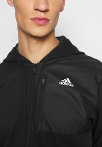 adidas Performance - AERO  - Zip-up hoodie - black - 5