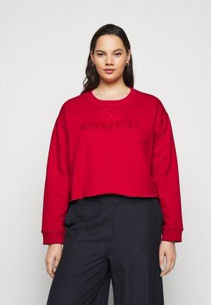 NMANTON - Sweatshirt - haute red