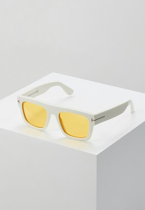 Solbriller - white/yellow