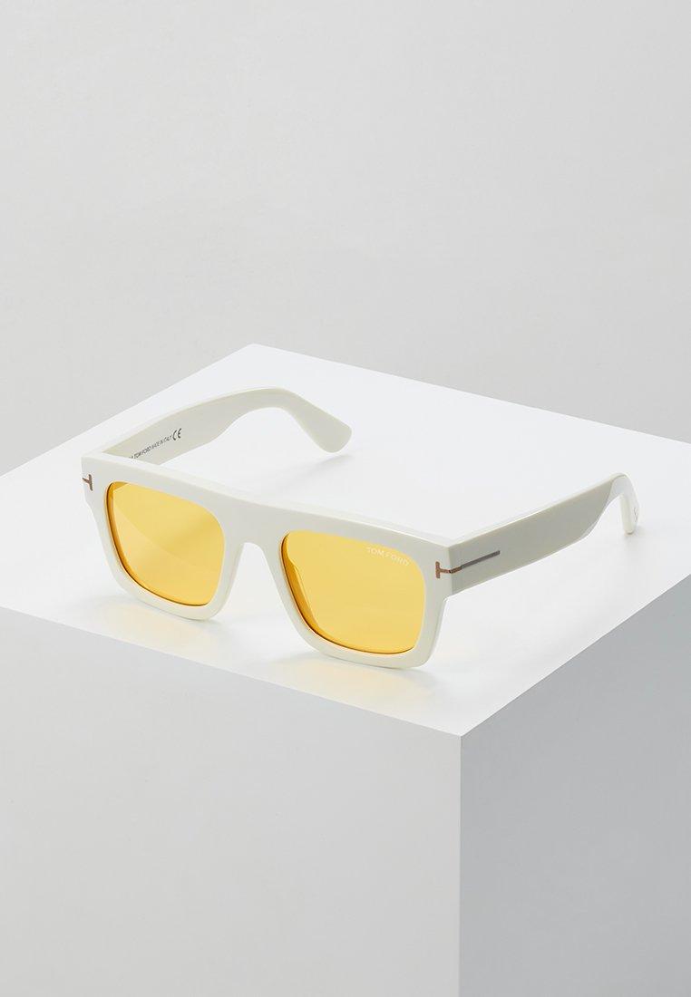 Tom Ford - Sunglasses - white/yellow