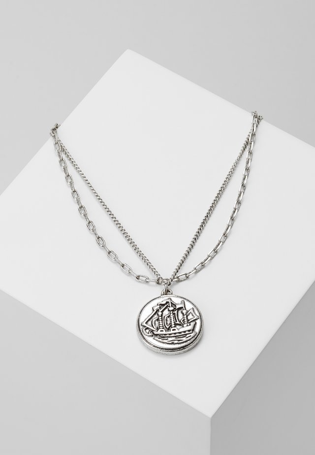 HALF PENNY NECKLACE 2 PACK - Ketting - silver-coloured