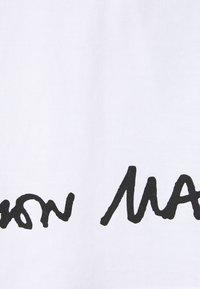MM6 Maison Margiela - Print T-shirt - white - 8