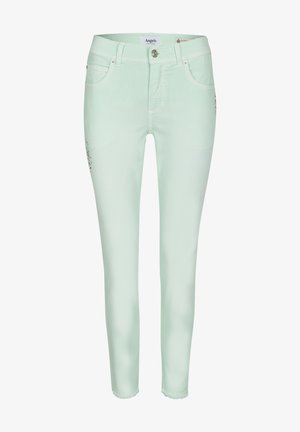 ORNELLA GLAMOUR - Slim fit jeans - mint