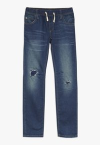 GAP - BOY DESTROY - Slim fit jeans - blue denim - 0