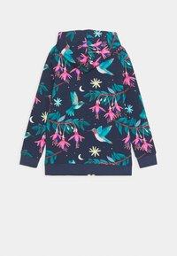 Walkiddy - ZIP THROUGH JACKET HUMMINGBIRDS UNISEX - Zip-up sweatshirt - dark blue/green - 1