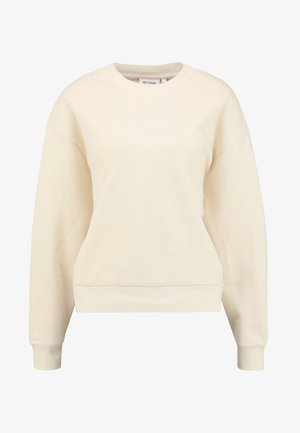 HUGE CROPPED - Sweater - beige