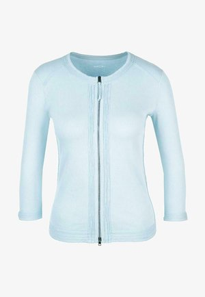 MARC CAIN DAMEN STRICKJACKE 3/4-ARM - Cardigan - light blue