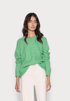 SILJE UPGRADE CREW NECK  - Neule - absinthe green