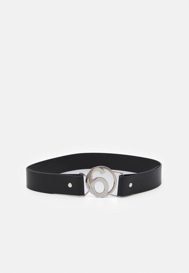 Belte - silver/black