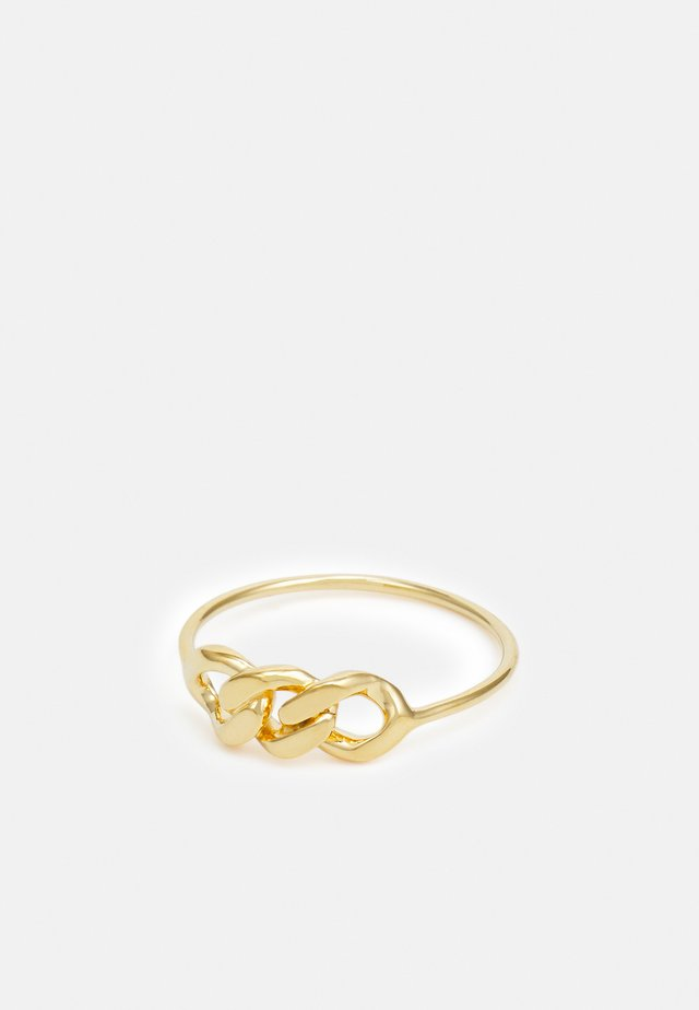 LARGE CHAINPART - Bague - gold-coloured