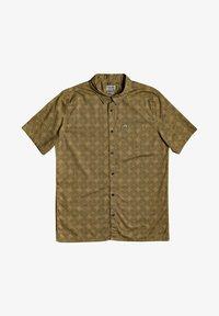 Quiksilver - THREADS PRINT - Shirt - dull gold threadspack - 0