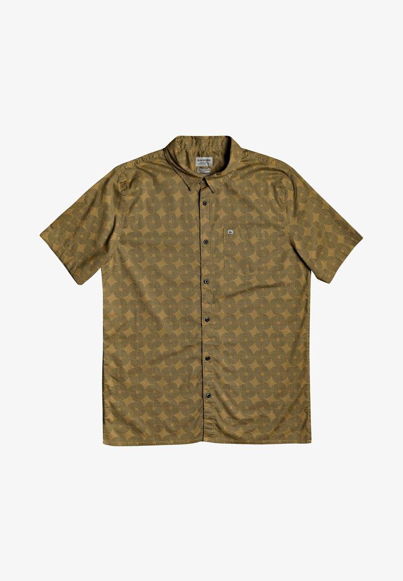 Quiksilver - THREADS PRINT - Shirt - dull gold threadspack